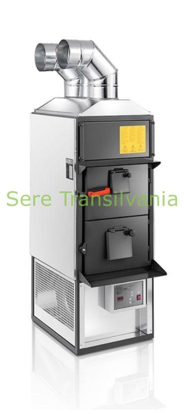 Generator combustibil solid