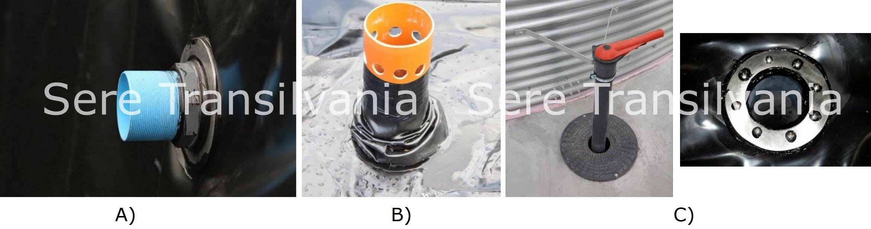echipamente optionale rezervor de apa